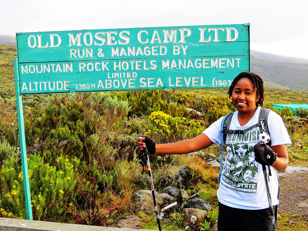 Mount Kenya_Old Moses Camp sign