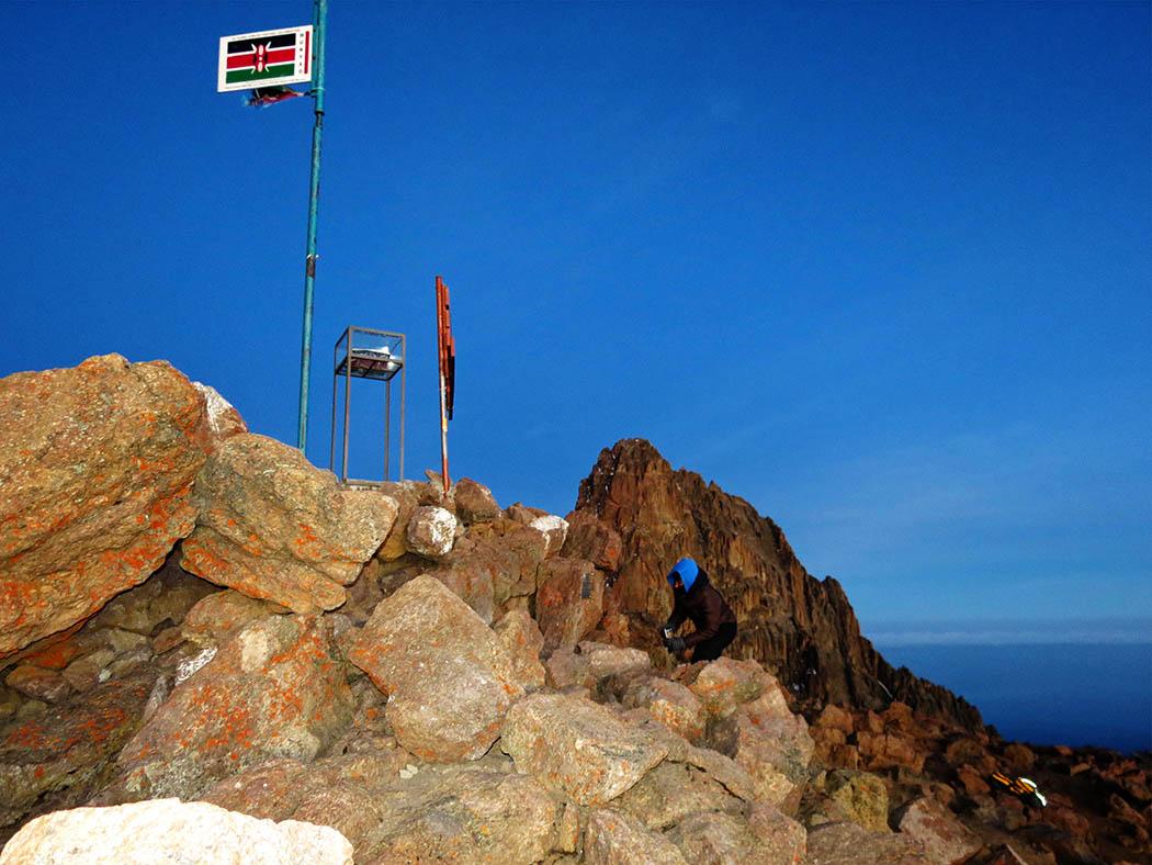 Mount Kenya_Lenana Peak