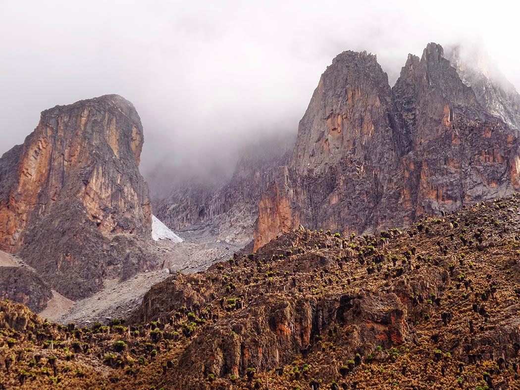 Mount Kenya_Shimpton's camp_view 3