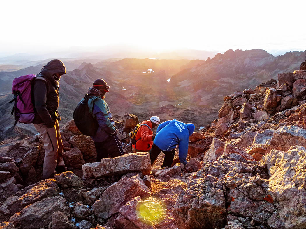 Mount Kenya_descent 2