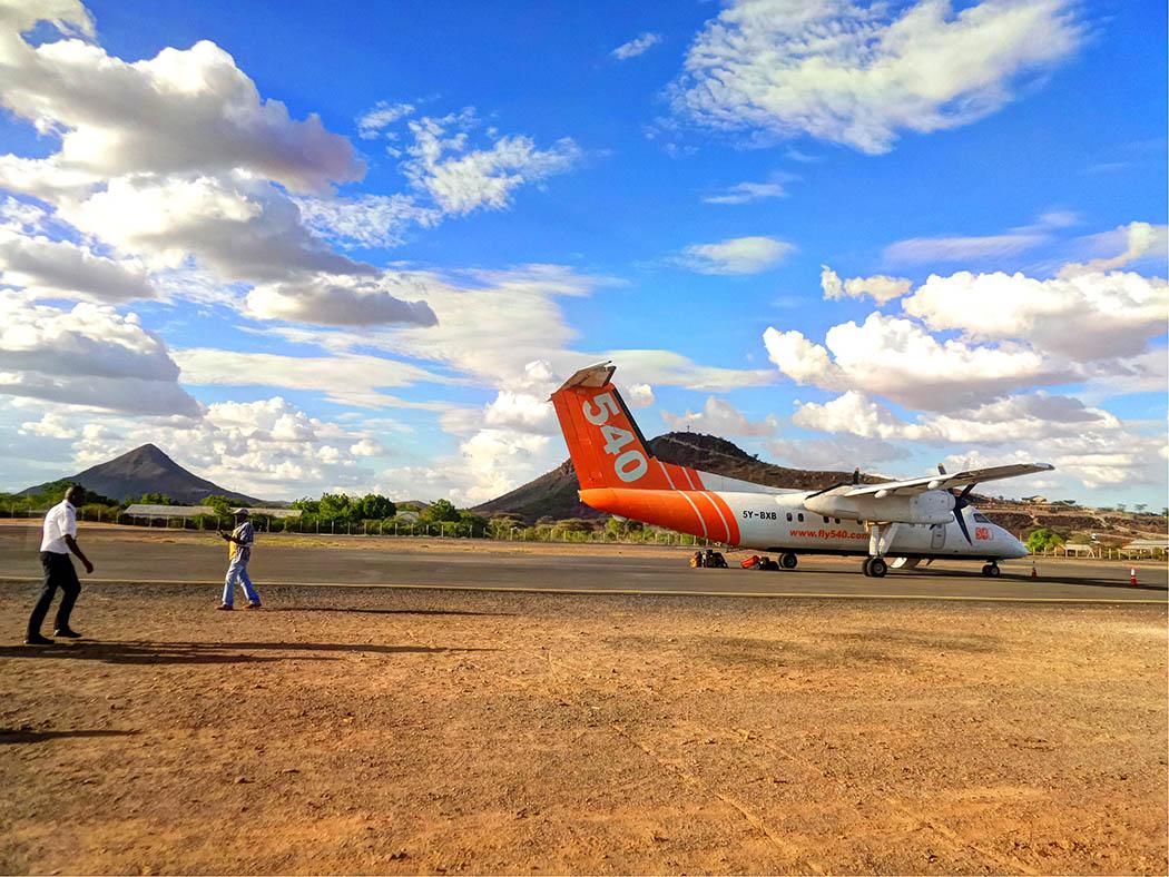 Unexpected Kenya_flight 540