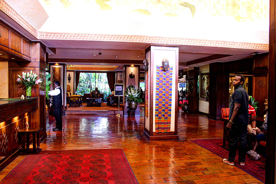 Nairobi Serena lobby