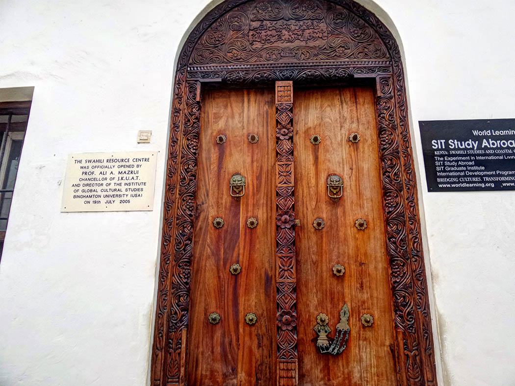 Mombasa Old Town_Carved door