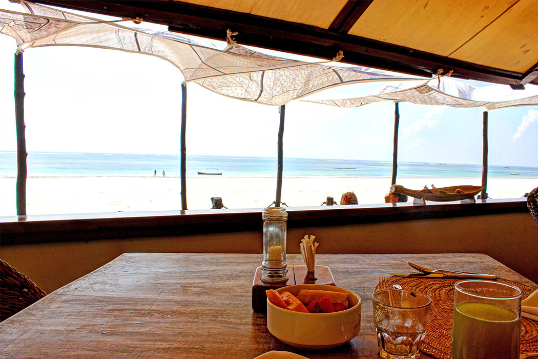 Sands at Nomad restaurant_beach view