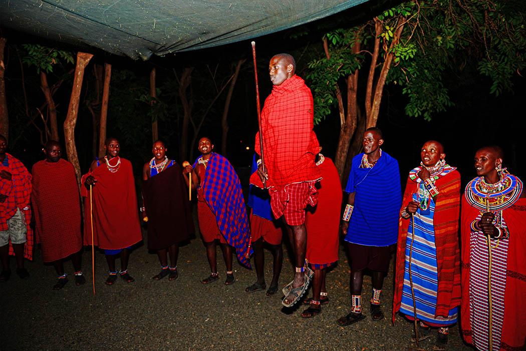 Amboseli Serena Safari Lodge_bush dinner