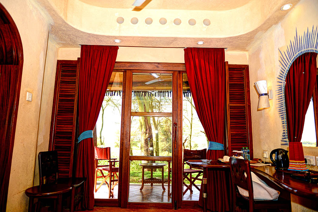 Amboseli Serena Safari Lodge_view from room
