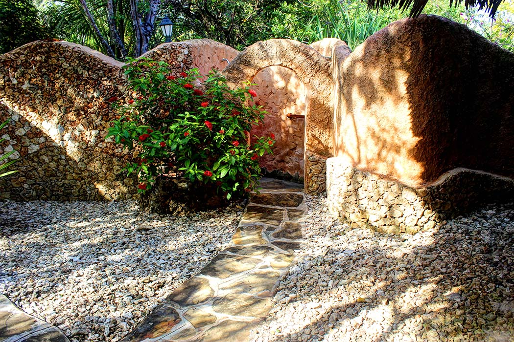 The Sands at Chale Island_outdoor shower