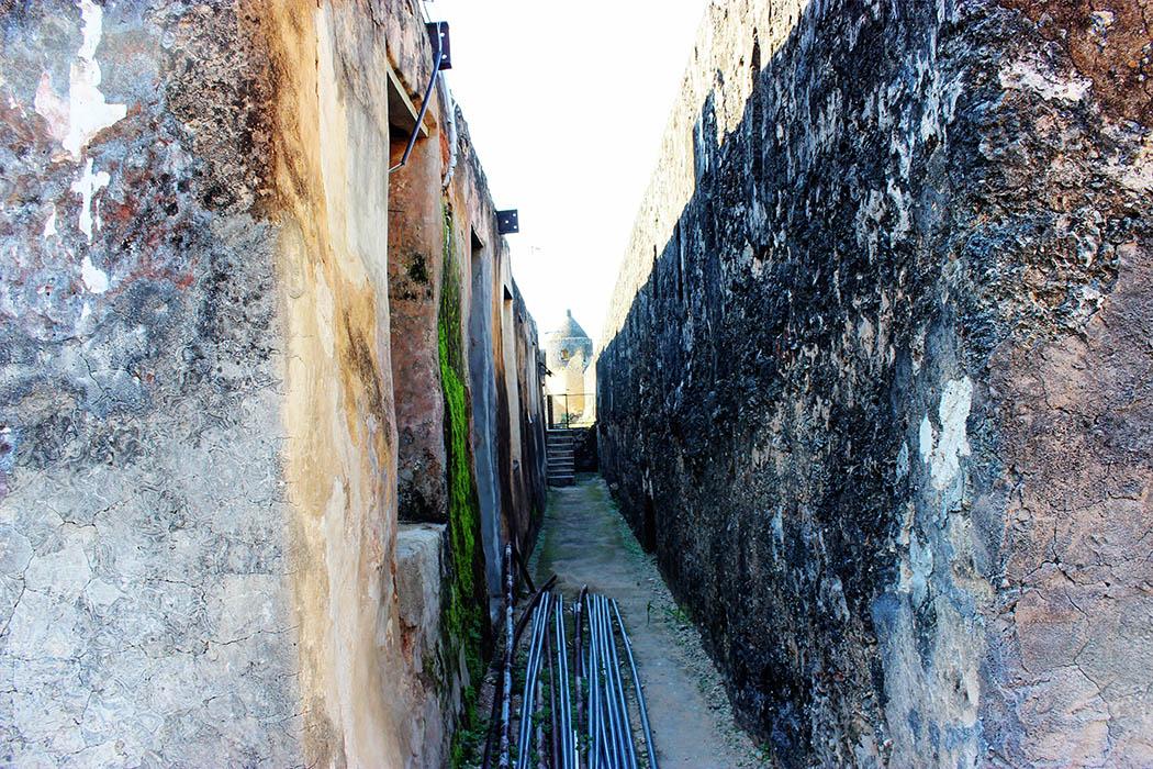 Fort Jesus Mombasa_passageway