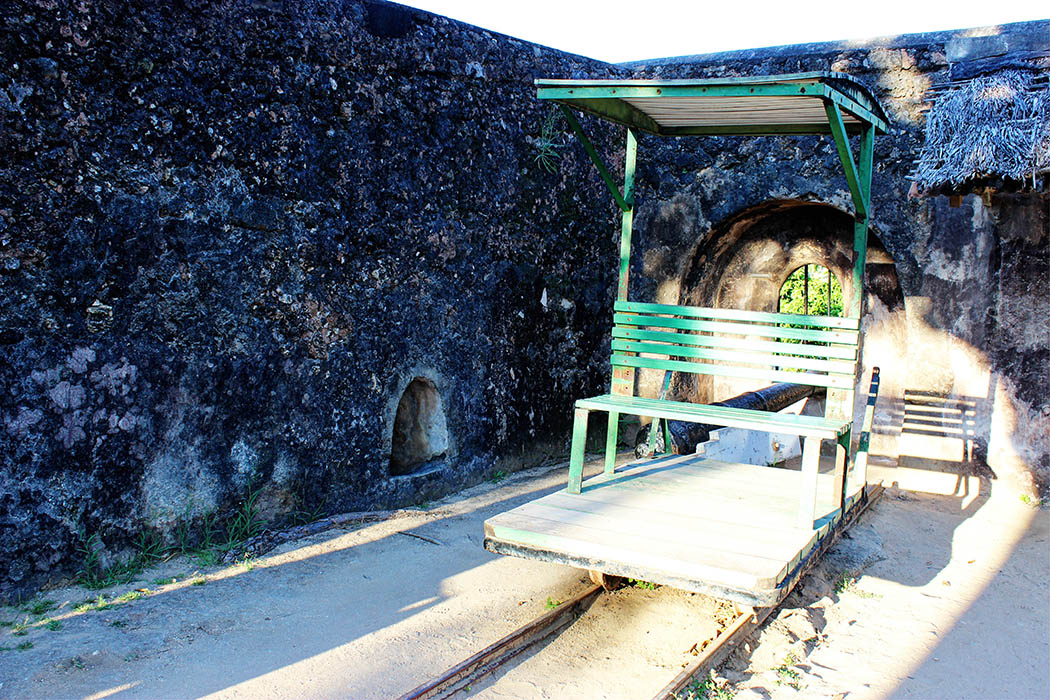 Fort Jesus Mombasa_trolley