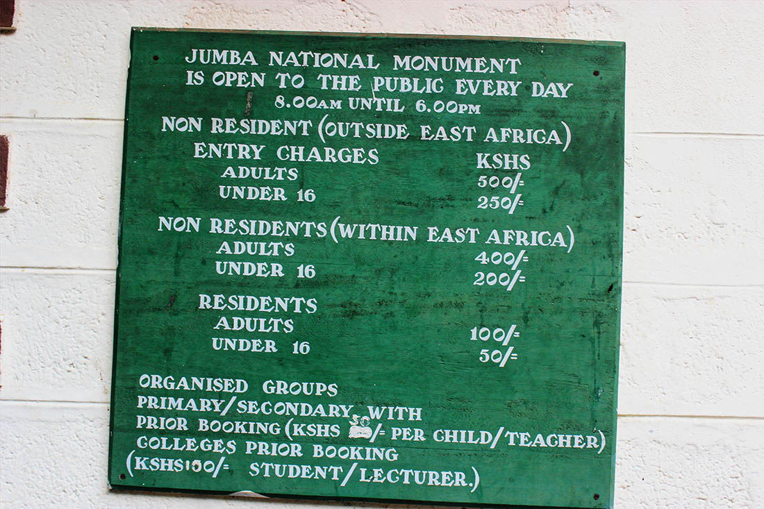 Jumba la mtwana_charges