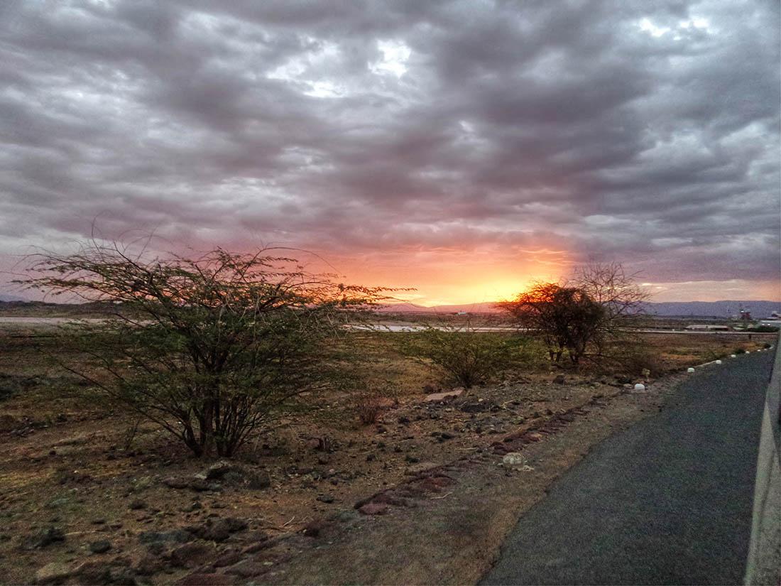 Lake Magadi_Sunset