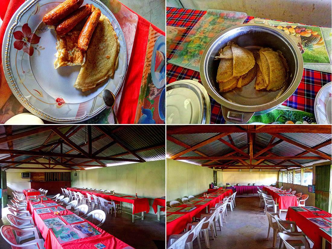 Rhino Camp_dining and food