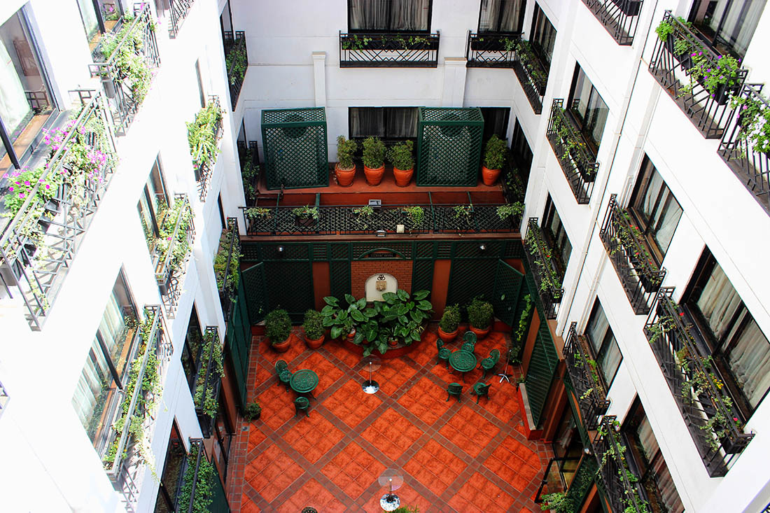 Sarova Stanley_Courtyard