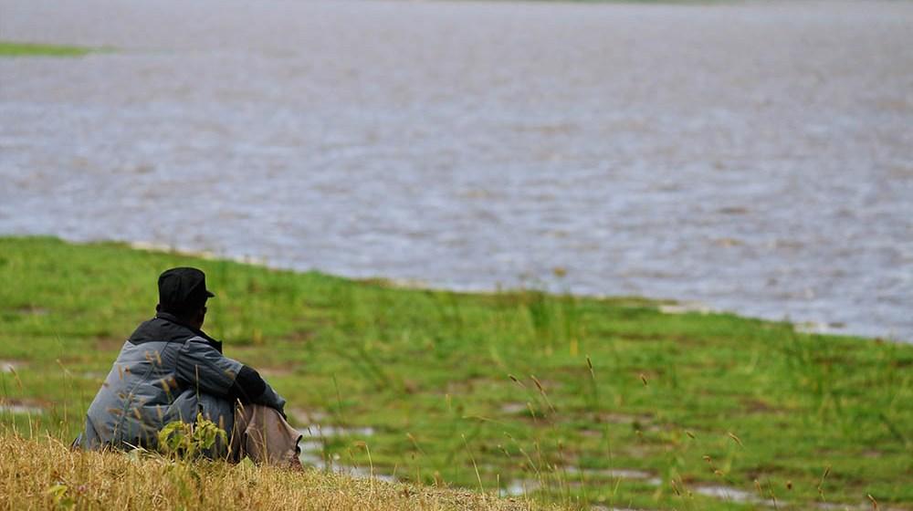 Lake Olbolossat_Man