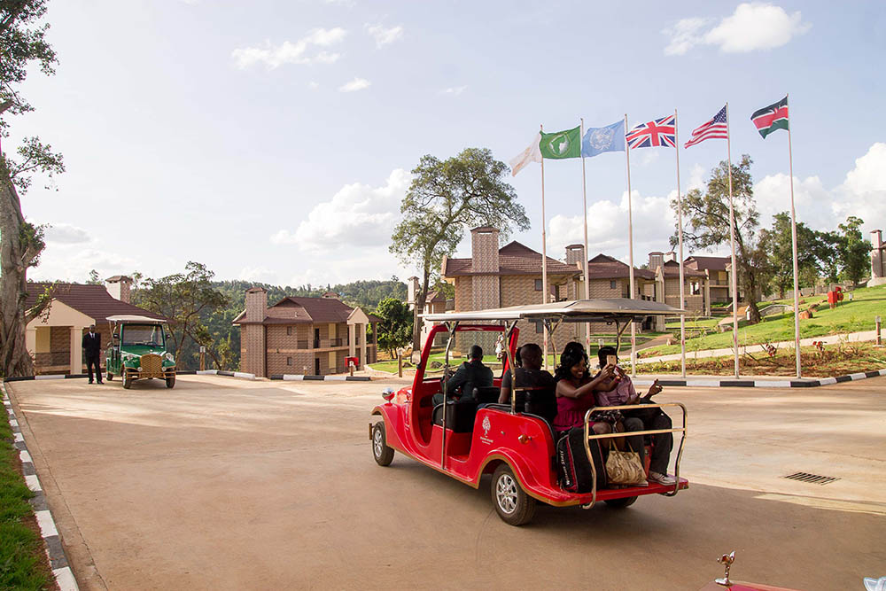 Panari Resort_cart