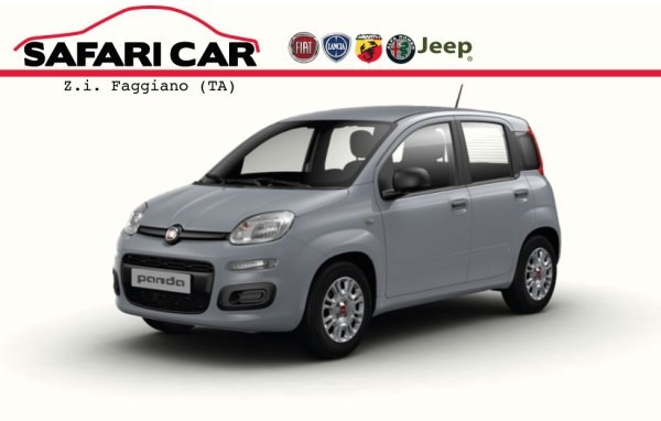 Fiat Panda MY21 Frontale Grigio Moda