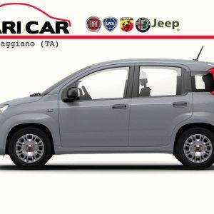 Fiat Panda MY21 Laterale grigio moda