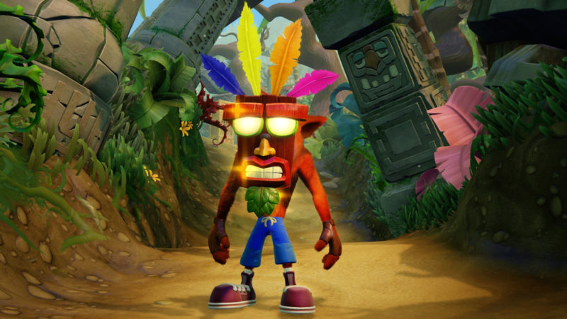 Nuovo Crash Bandicoot PS4