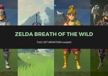 Zelda Breath of the wild set completi