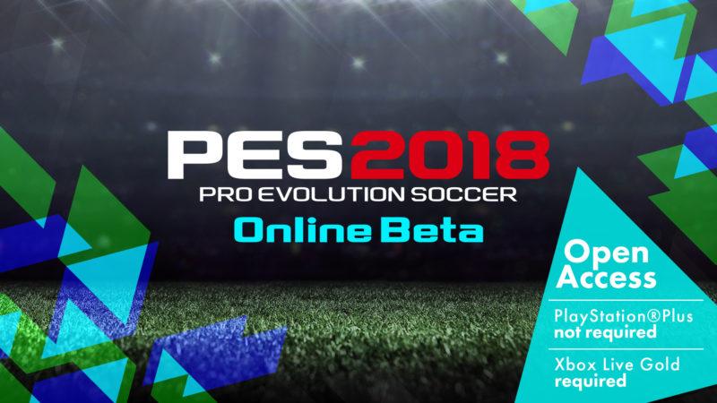 pes 2018 beta online