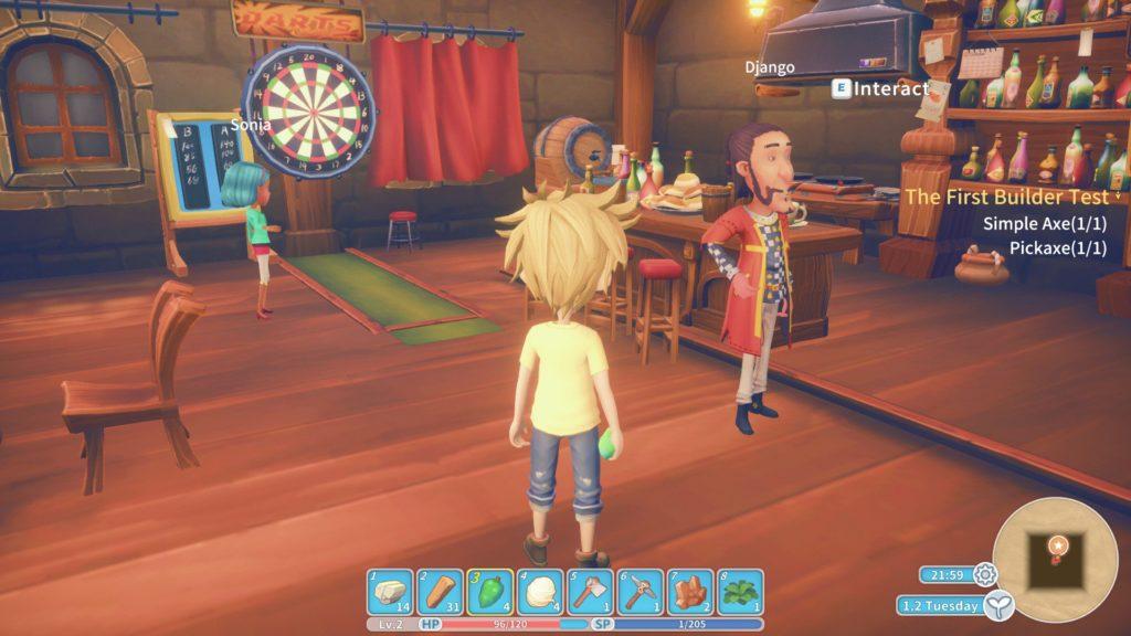 my time at portia gameplay screenshot