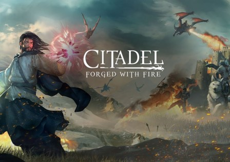 Citadel Forged With Fire Logo