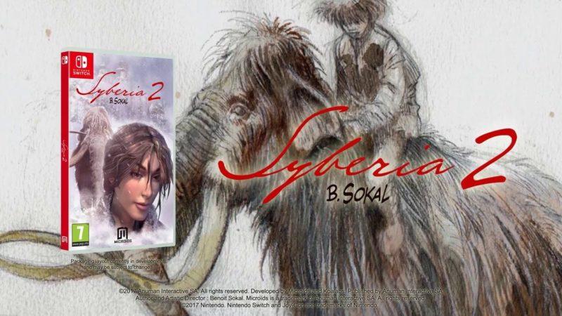 Syberia 2 Switch LOGO