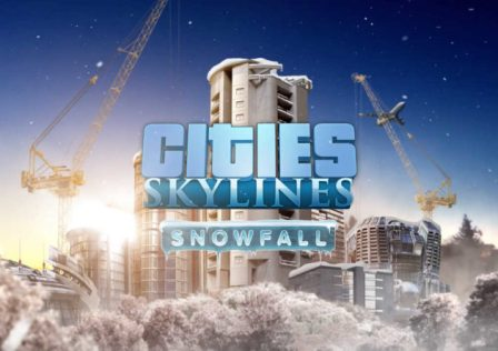 Il logo ufficiale di Cities Skylines - Snowfall