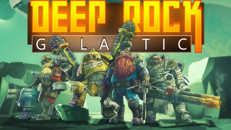 Deep Rock Galactic LOGO