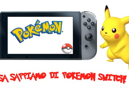 Pokemon Switch data di uscita