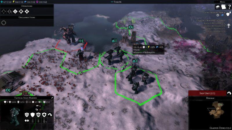 Wharhammer: Gladius - Relics of War units