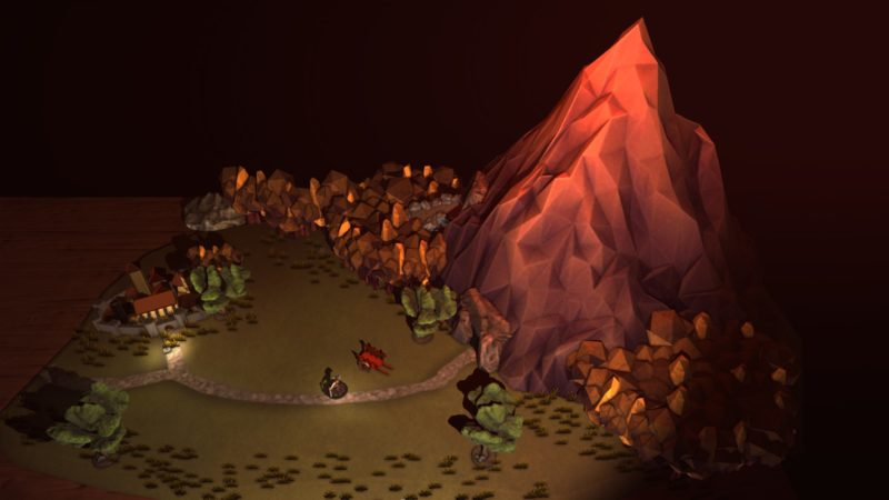 The Warlock of Firetop Mountain intro