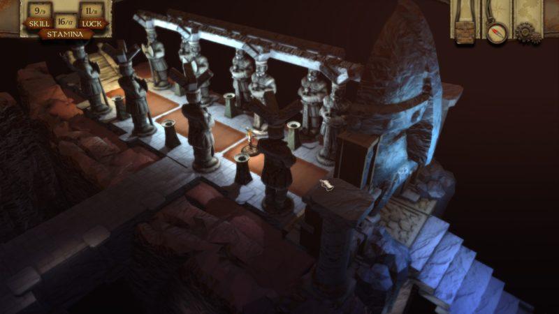 The Warlock of Firetop Mountain dungeons