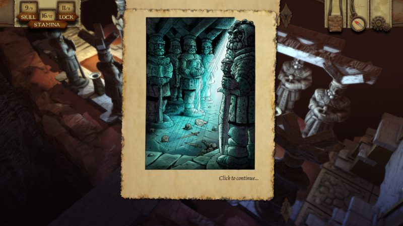 The Warlock of Firetop Mountain illustrations