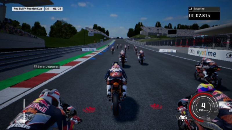 MotoGP 18 Modalità Carriera Switch