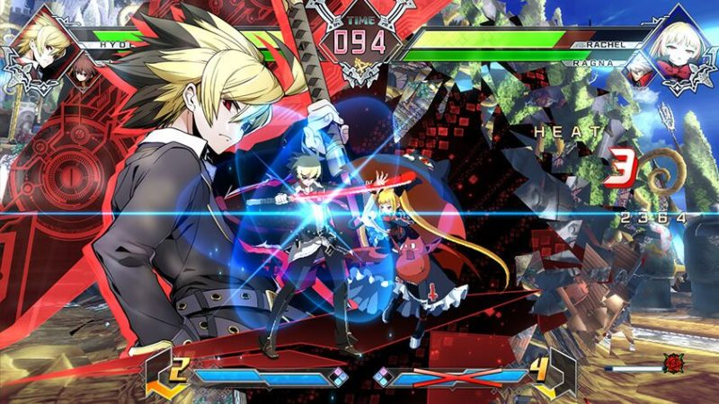 BlazBlue Cross Tag Battle Screenshot