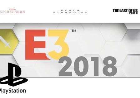 E3 2018 Sony Playstation