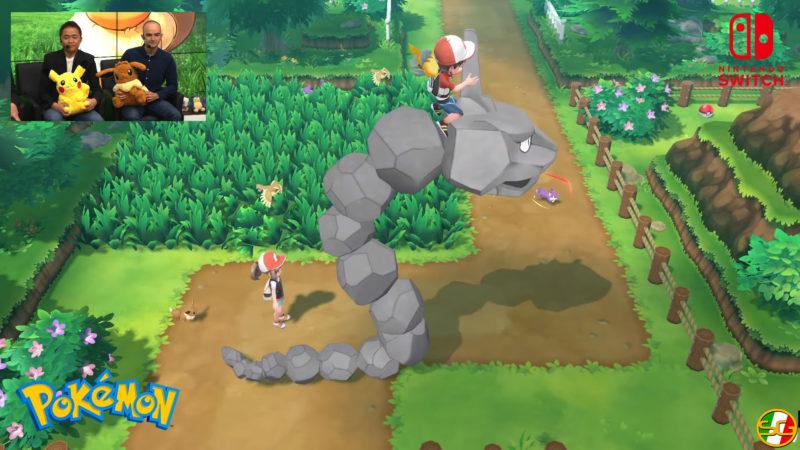 Pokemon Lets Go gameplay
