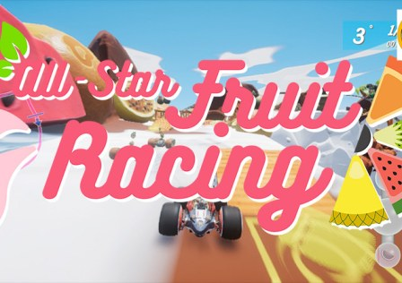 All Star Fruit Racing Logo
