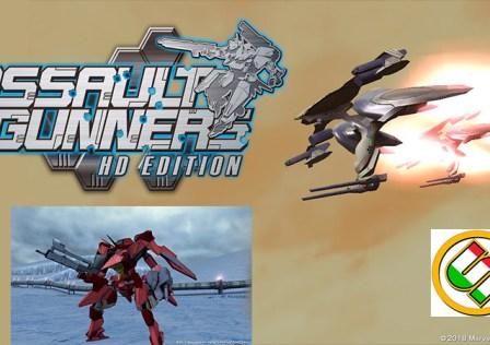 Assault Gunners HD Edition Switch LOGO