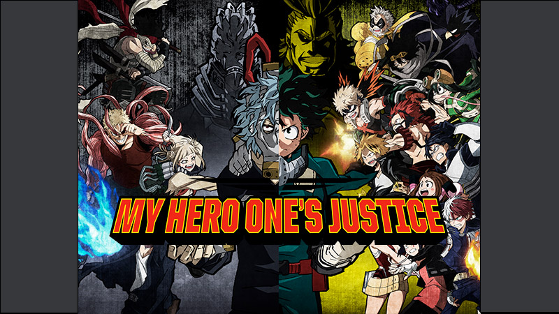 My Hero One Justice Roster