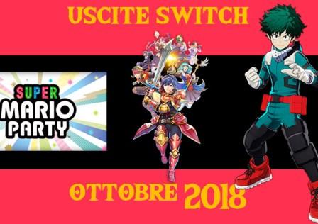 Uscite switch ottobre 2018