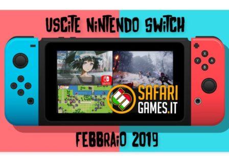 Uscite Switch Febbraio 2019