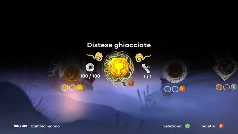 Recensione Unruly Heroes: schermata di riepilogo livello