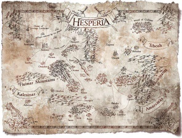 The Ballad Singer: Hesperia