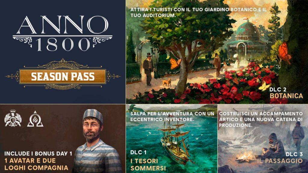 Anno 1800, Season Pass