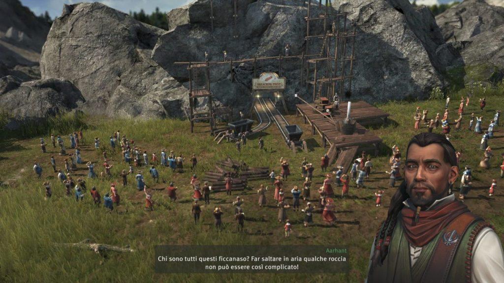 Anno 1800, cutscene