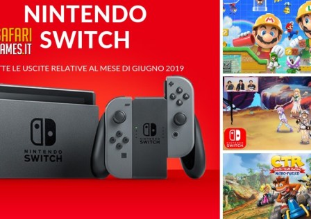 Uscite Switch GIUGNO 2019