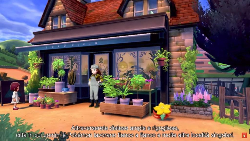 Una regione variegata in Pokemon Spada e Scudo
