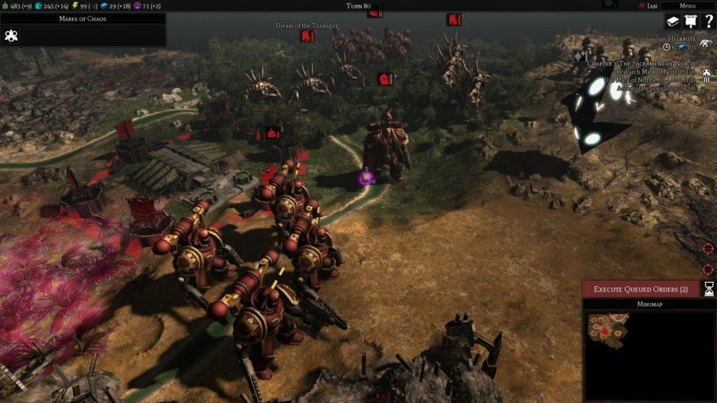Warhammer 40,000 Gladius – Chaos Space Marines unità